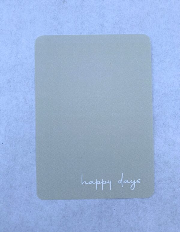 Things of Paper - Happy Days
